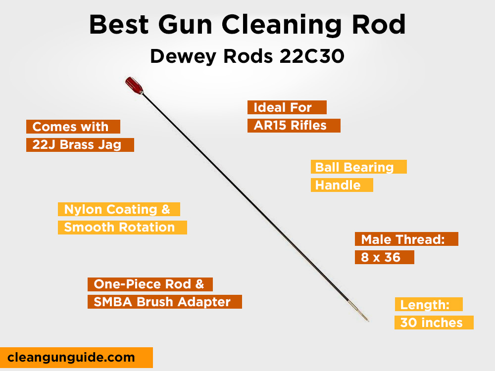 Dewey Rods 22C30 Review, Pros and Cons