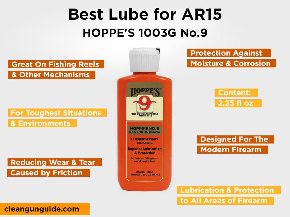 HOPPE'S 1003G No.9 Review, Pros and Cons