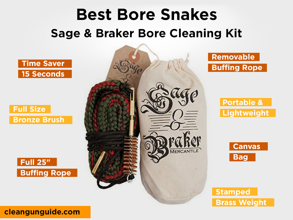 Sage & Braker Bore Cleaning Kit Review, Pros and Cons