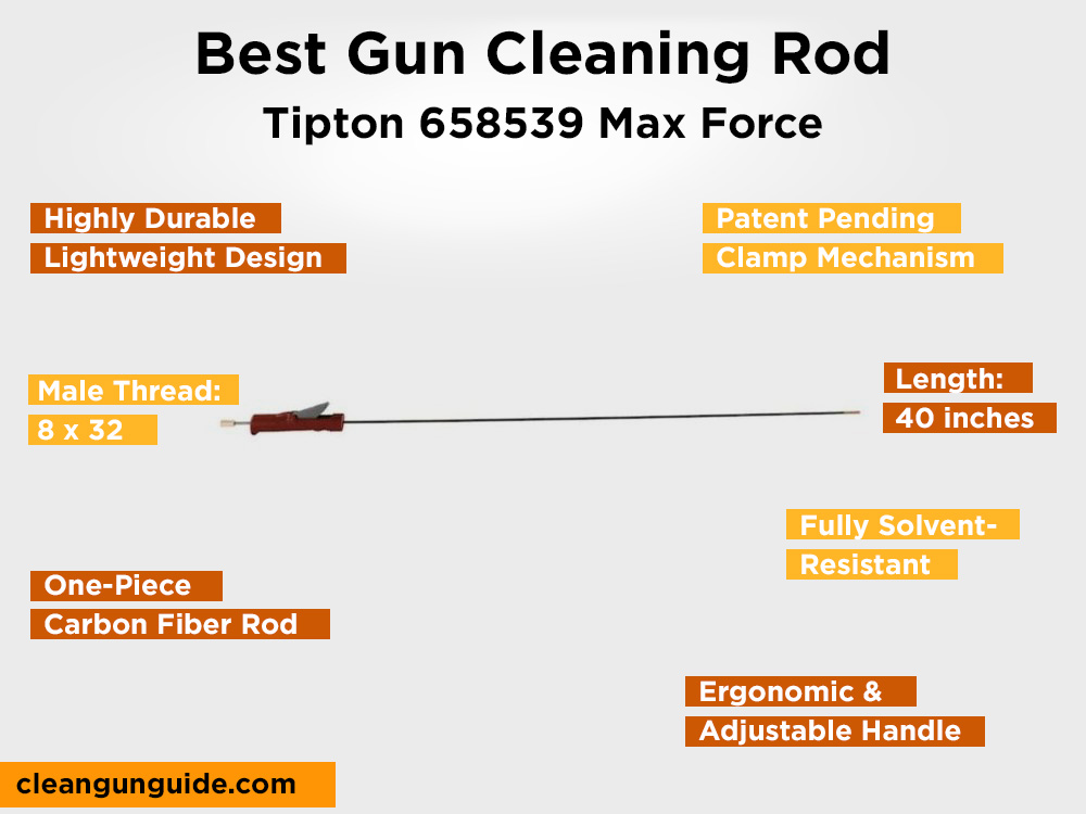 Tipton 658539 Max Force Review, Pros and Cons