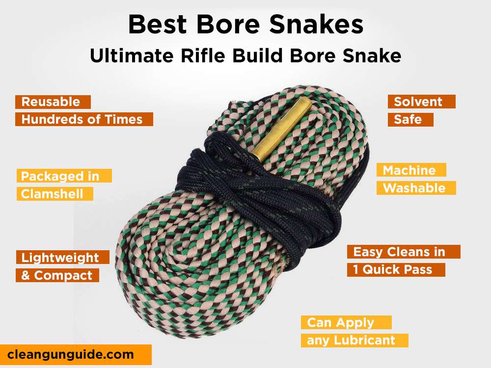 Ultimate Rifle Build Bore Snake Review, Pros and Cons
