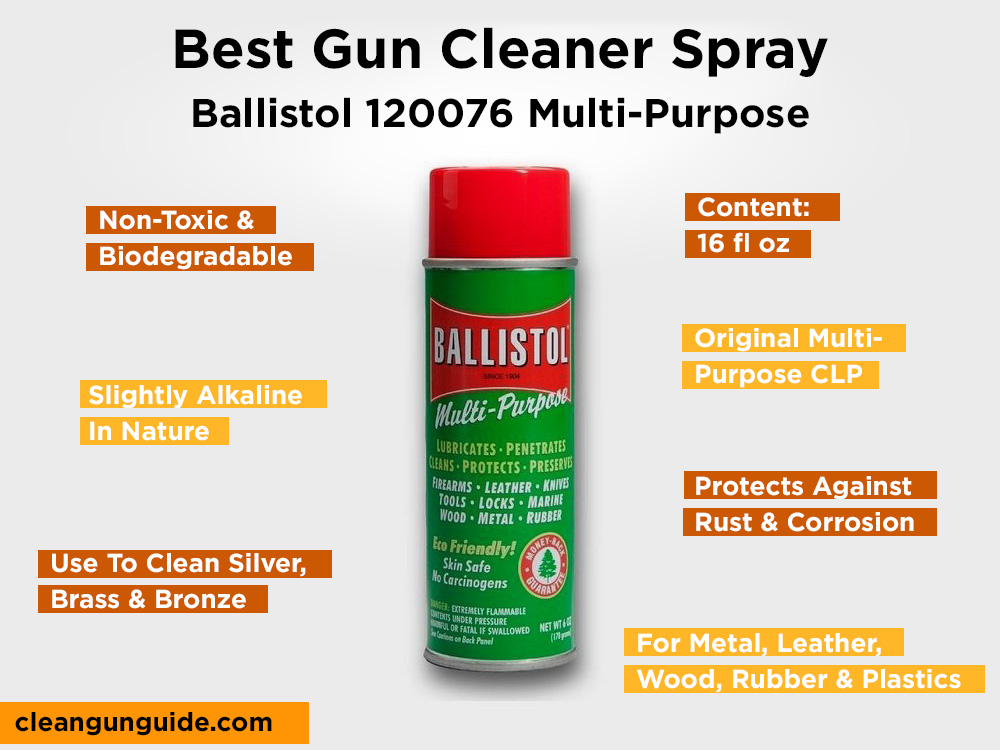 Ballistol 120076 Multi-Purpose Review, Pros and Cons