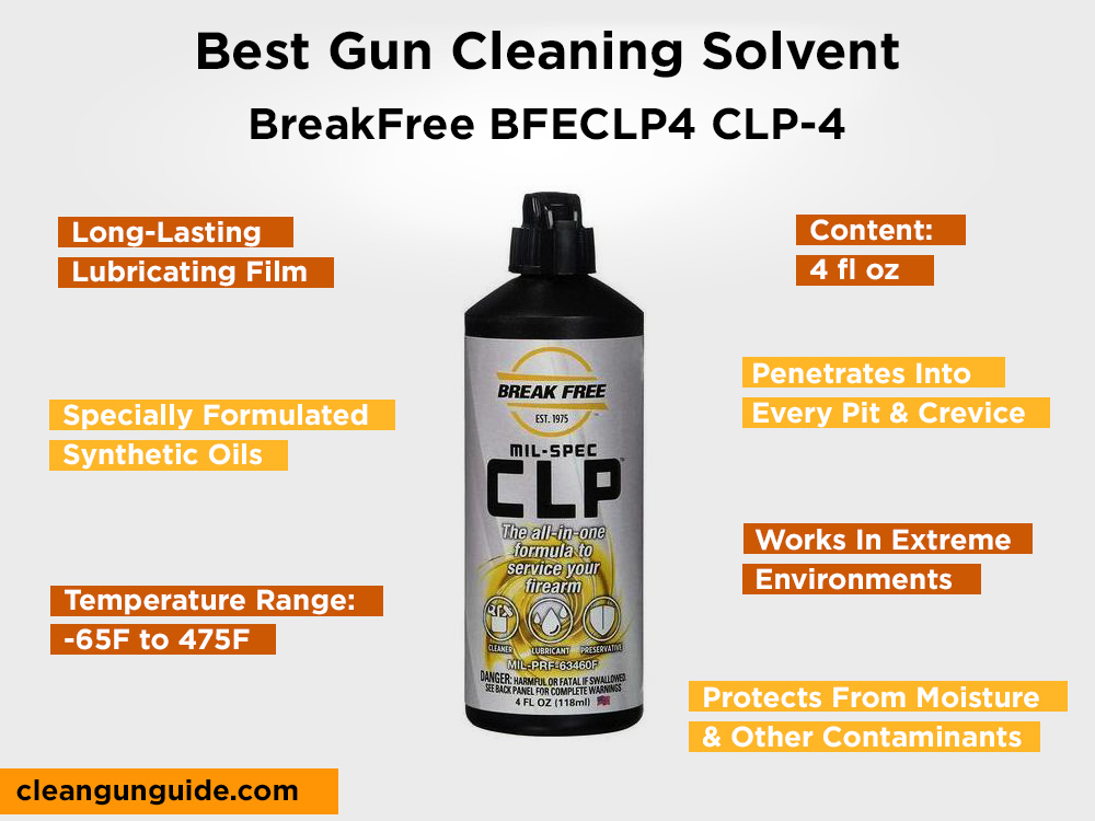 BreakFree BFECLP4 CLP-4 Review, Pros ans Cons