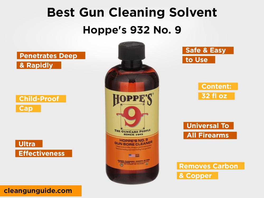 Hoppe's 932 No. 9 Review, Pros and Cons