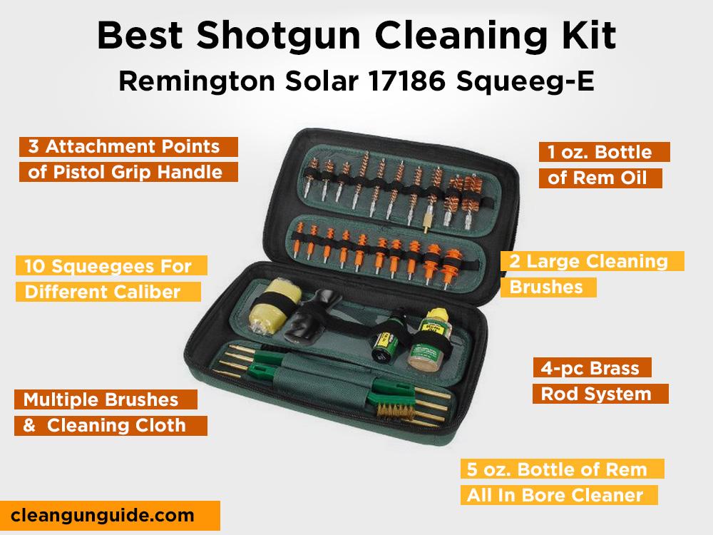 Remington Solar 17186 Squeeg-E Review, Pros and Cons