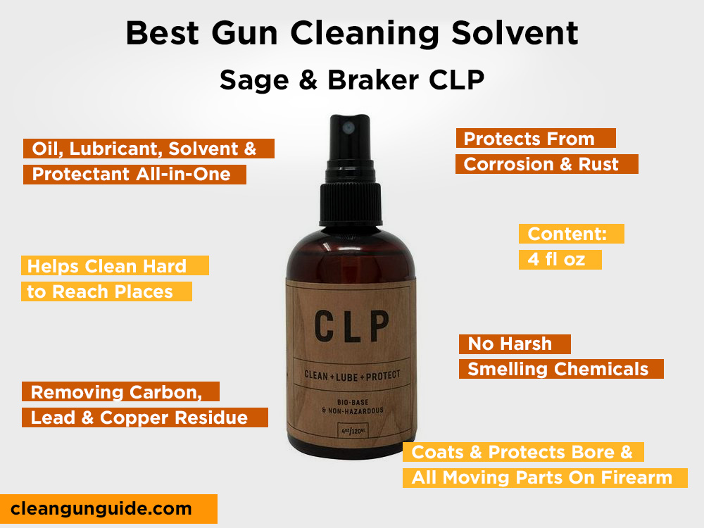 Sage & Braker CLP Review, Pros and Cons
