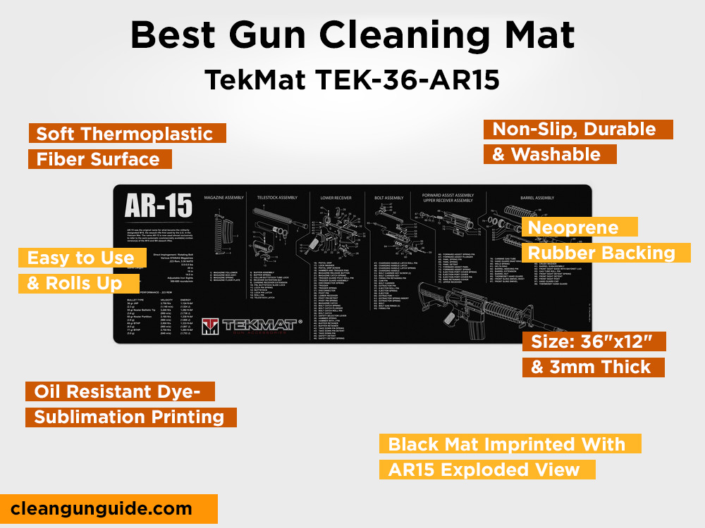 TekMat TEK-36-AR15 Review, Pros and Cons