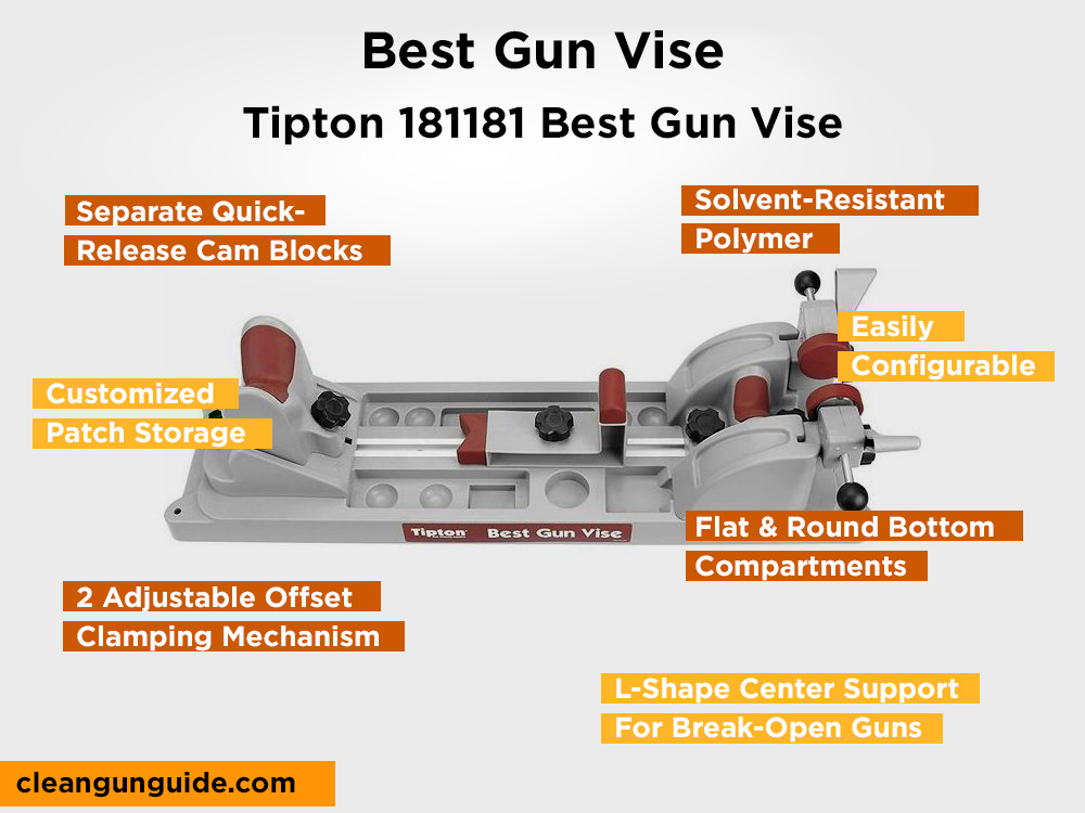 Tipton 181181 Best Gun Vise Review, Pros and Cons