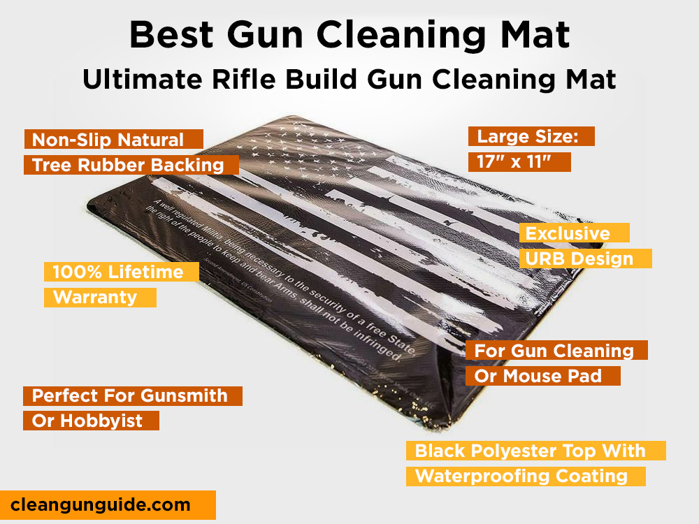 Ultimate Rifle Build Gun Cleaning Mat Review, Pros and Cons