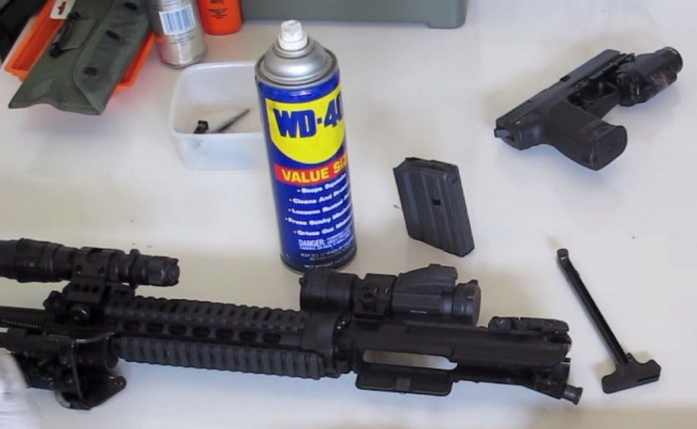 WD-40 for deep cleaning