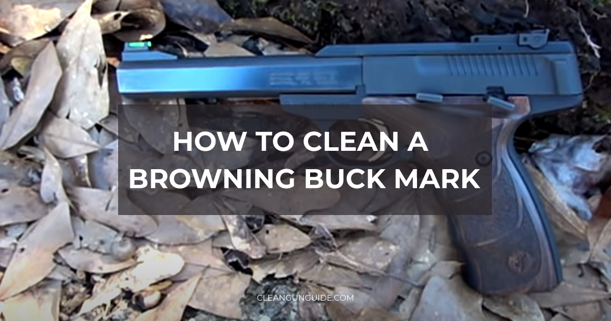 How to Clean a Browning Buck Mark-1