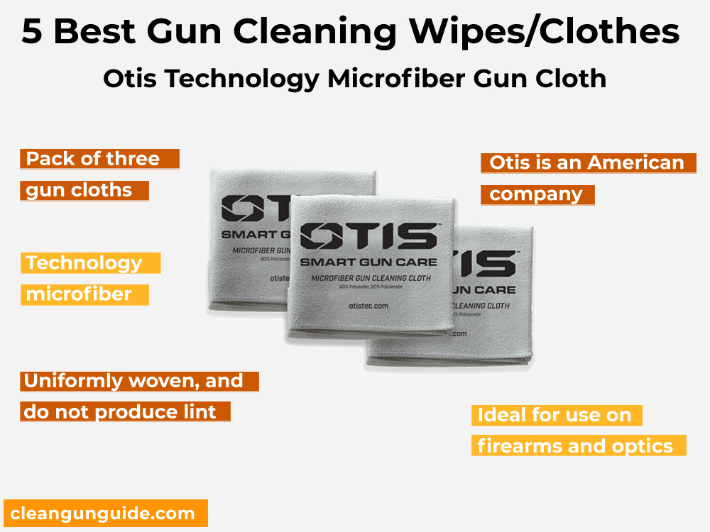 Otis Technology Microfiber Gun Cloth