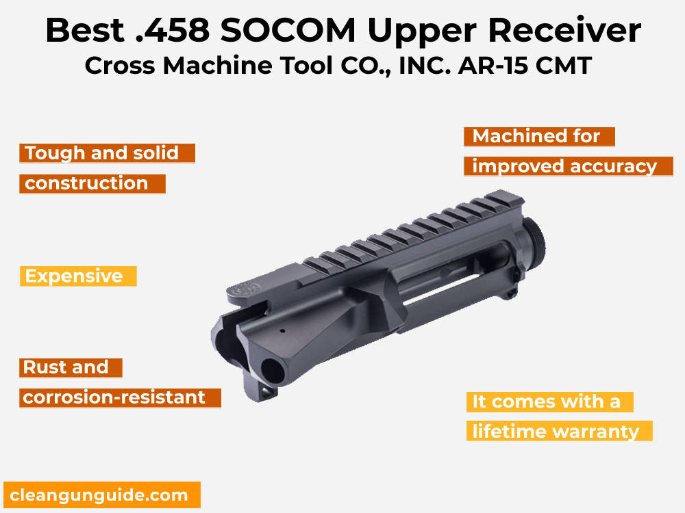 Cross Machine Tool CO., INC. AR-15 CMT Review, Pros and Cons