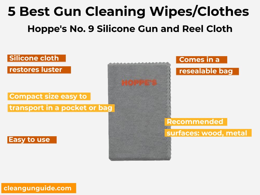 Hoppe's No. 9 Gun Cleaning Patch, .270-.35 Caliber