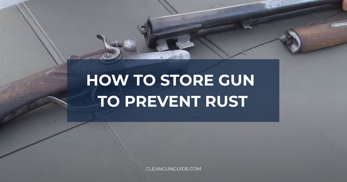 How to Store Gun to Prevent Rust-1