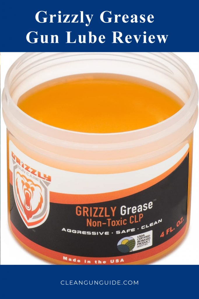 Grizzly Grease Gun Lube Review 1